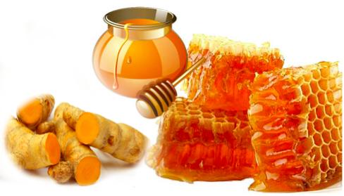 Mật ong và nghệ- Cách chữa viêm đại tràng dân gian