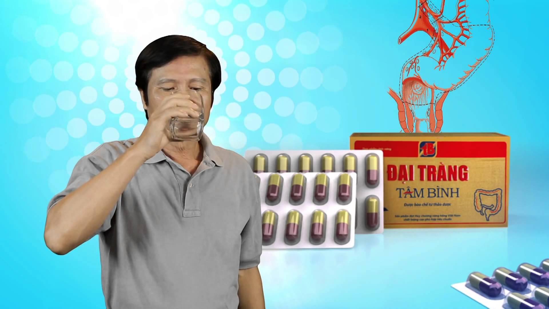 Cách sử dụng thuốc đại tràng Tâm Bình