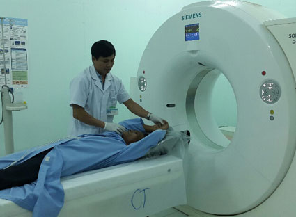 Nội soi đại tràng ảo qua CT 128 lát cắt