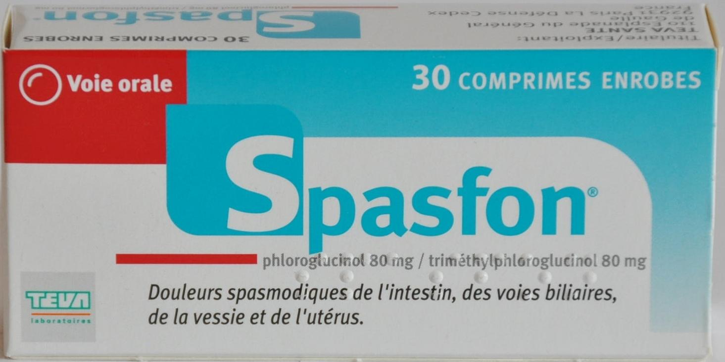 Thuốc Spasfon