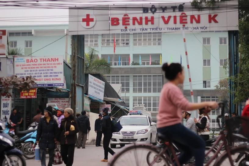 Xe bus đến Bệnh viện K cơ sở 3
