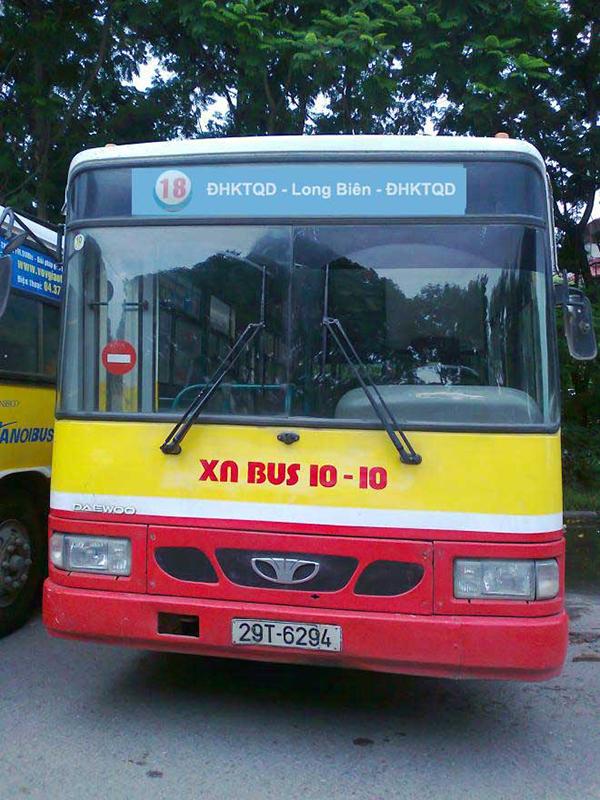 Các tuyến xe bus đến Bệnh viện Nội Tiết Trung Ương