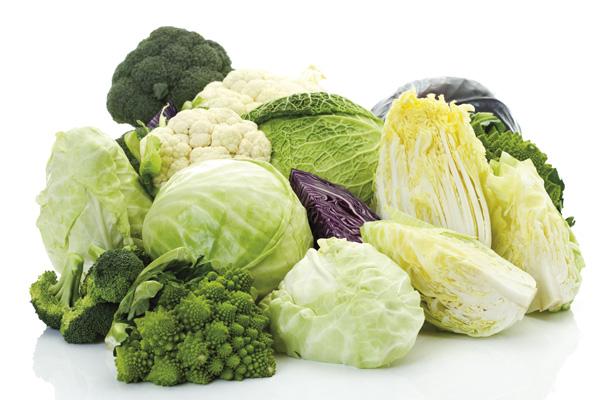 Ăn rau xanh chữa chướng hơi đại tràng