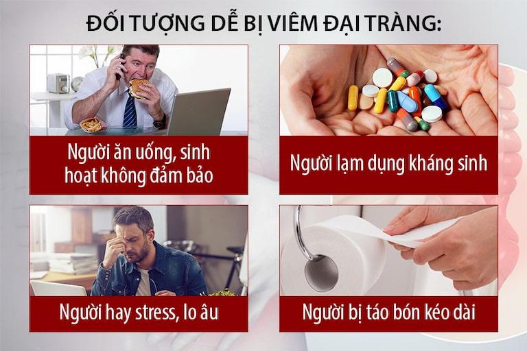 Một số nguyên nhân gây viêm đại tràng