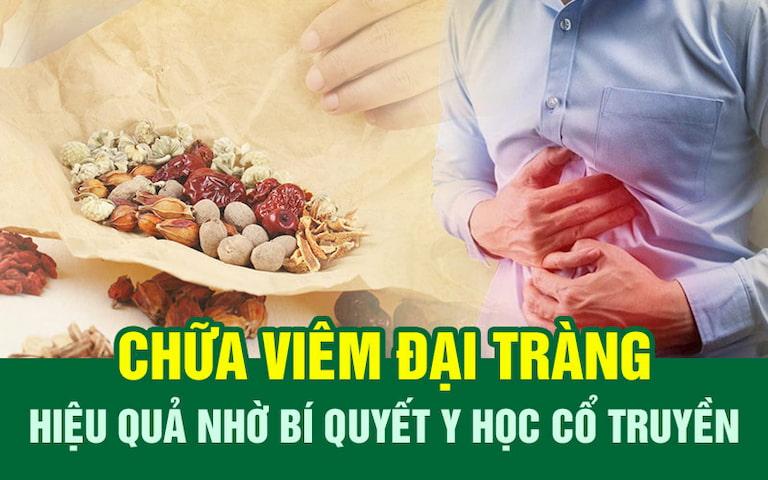 Các phương pháp YHCT là lựa chọn tối ưu cho người viêm đại tràng