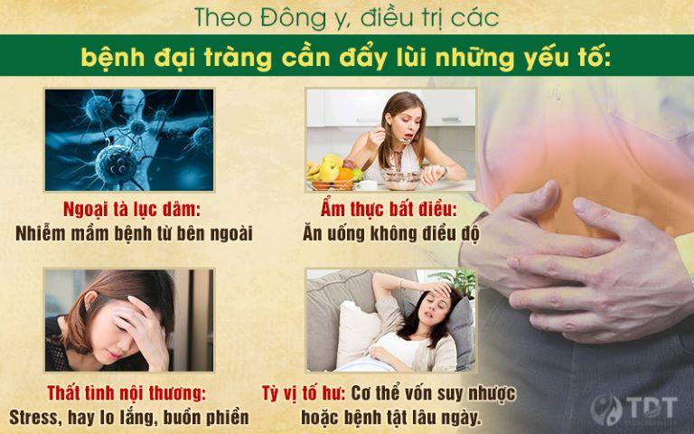 Nguyên tắc đẩy lùi bệnh đại tràng