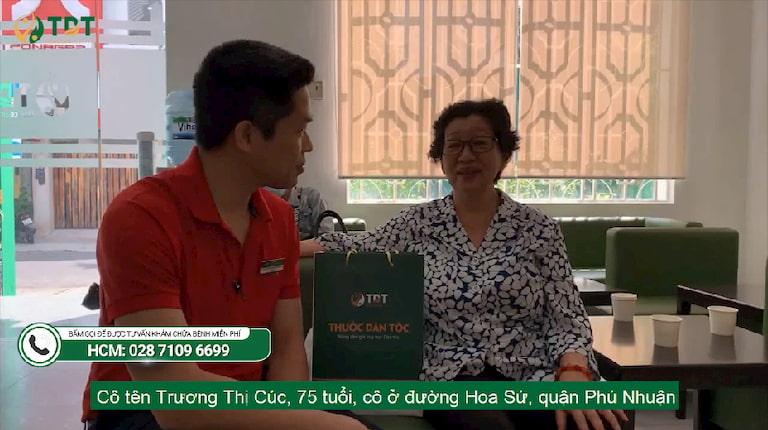 Cô Trương Thị Cúc, 75 tuổi - Hoa Sứ, Phú Nhuận