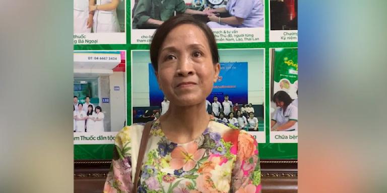 Cô Lưu Kim Vân, 56 tuổi - Hoàng Mai, Hà Nội